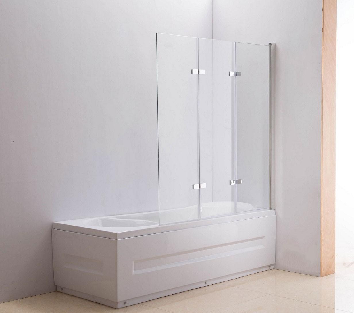 Paroi de douche Nano pour baignoire 3 portes