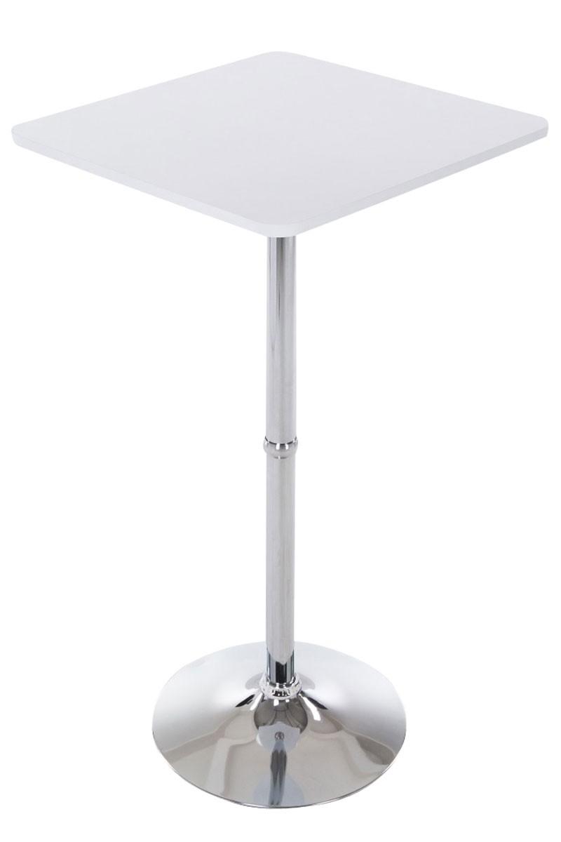 Table haute plateau en bois 60 x 60 cm