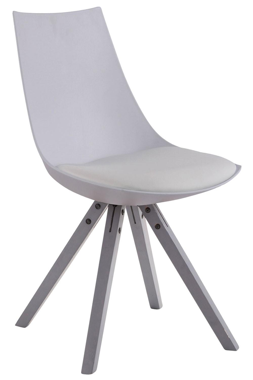 Chaise de salle à manger Albi simlicuir pieds carrés