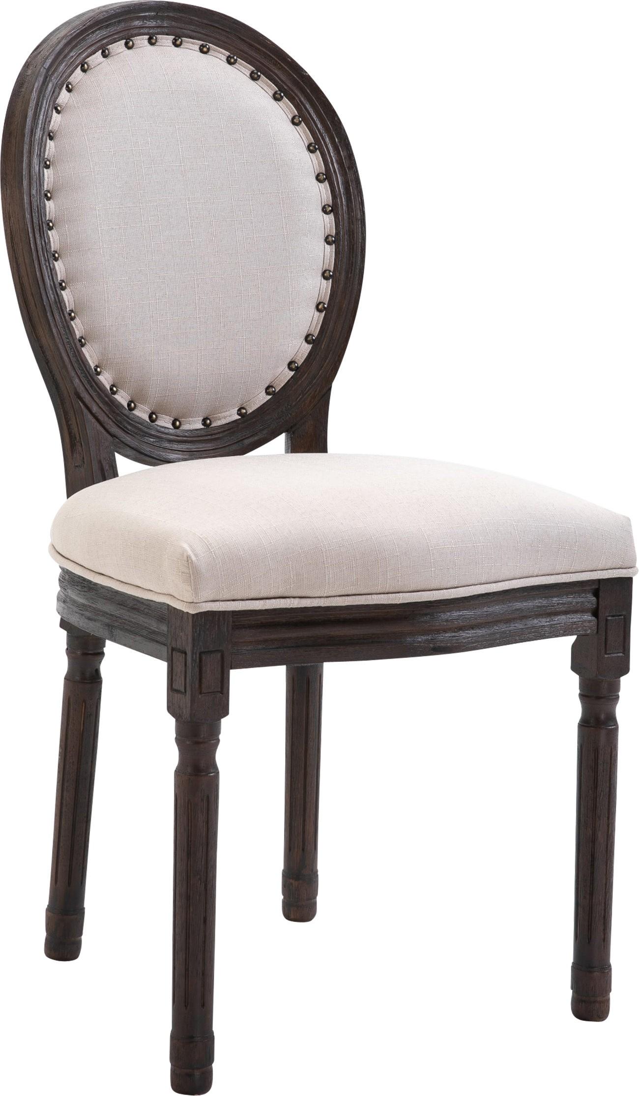 Chaise de salle à manger Lorient en tissu