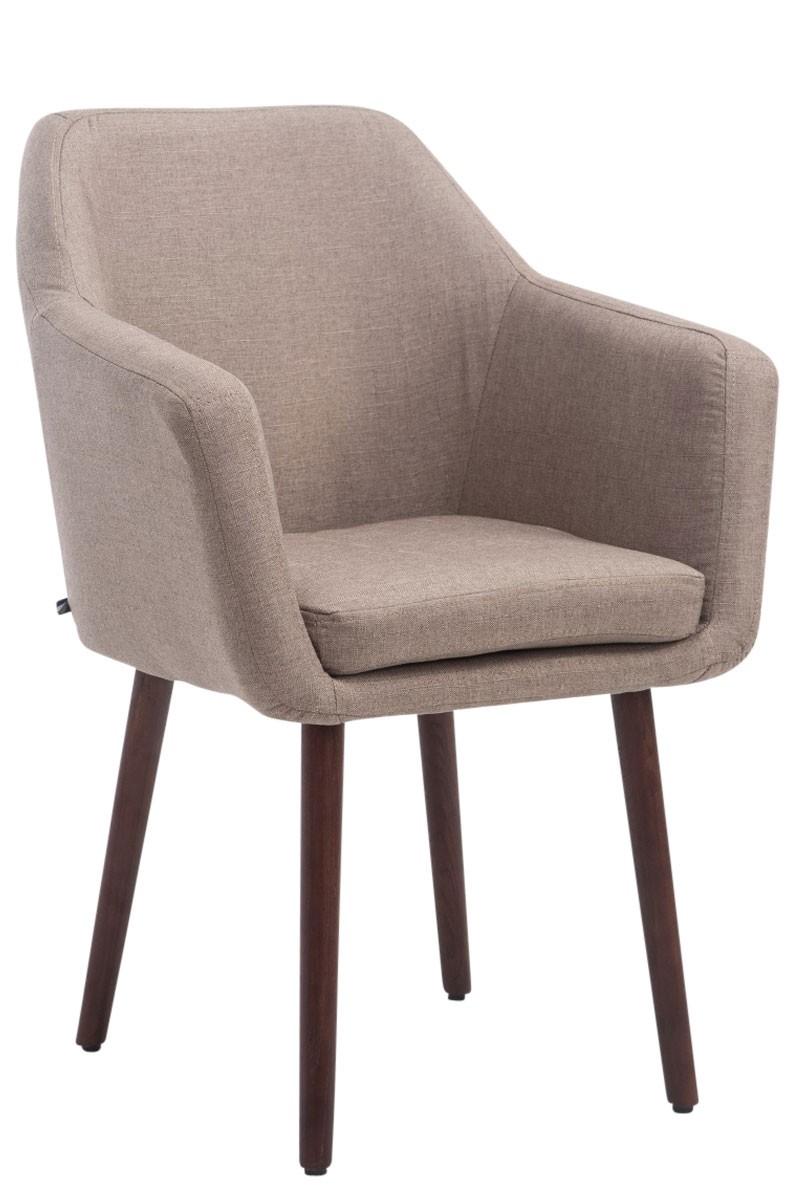 Chaise visiteur Utrecht tissu