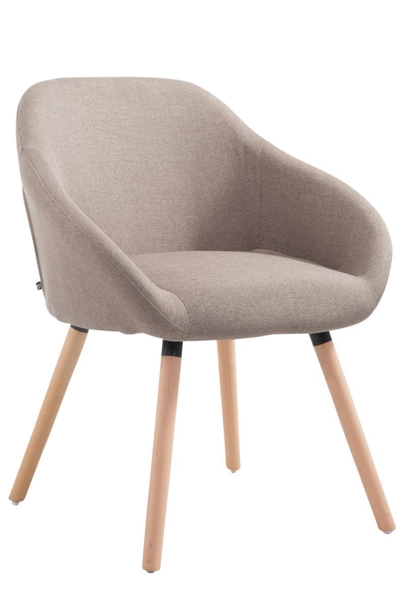 Chaise de salle à manger Hamburg tissu