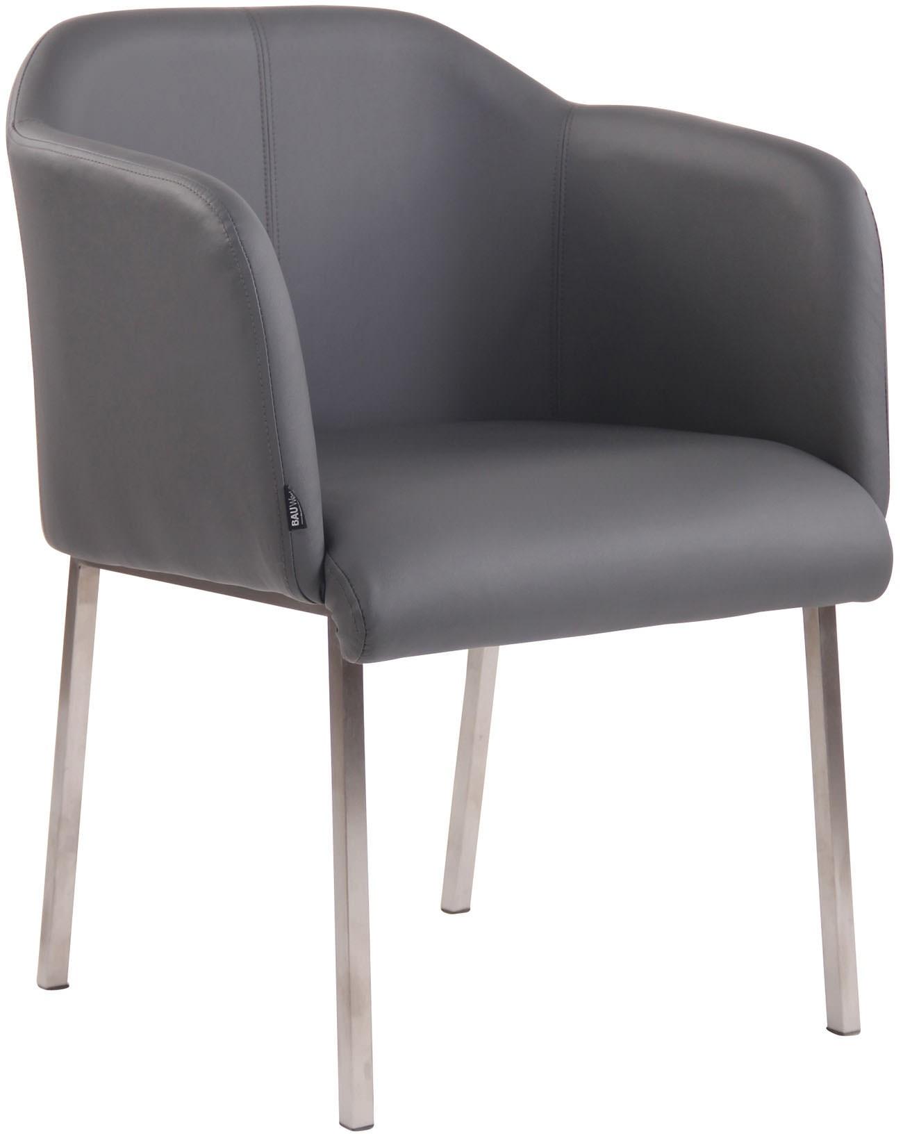 Chaise visiteur Magnus V2 en tissu ou similicuir
