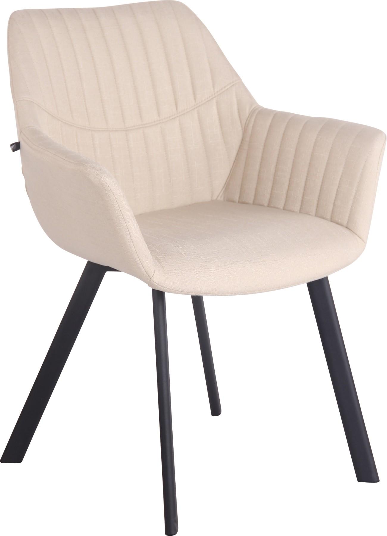 Chaise de salle à manger LANCY en tissu