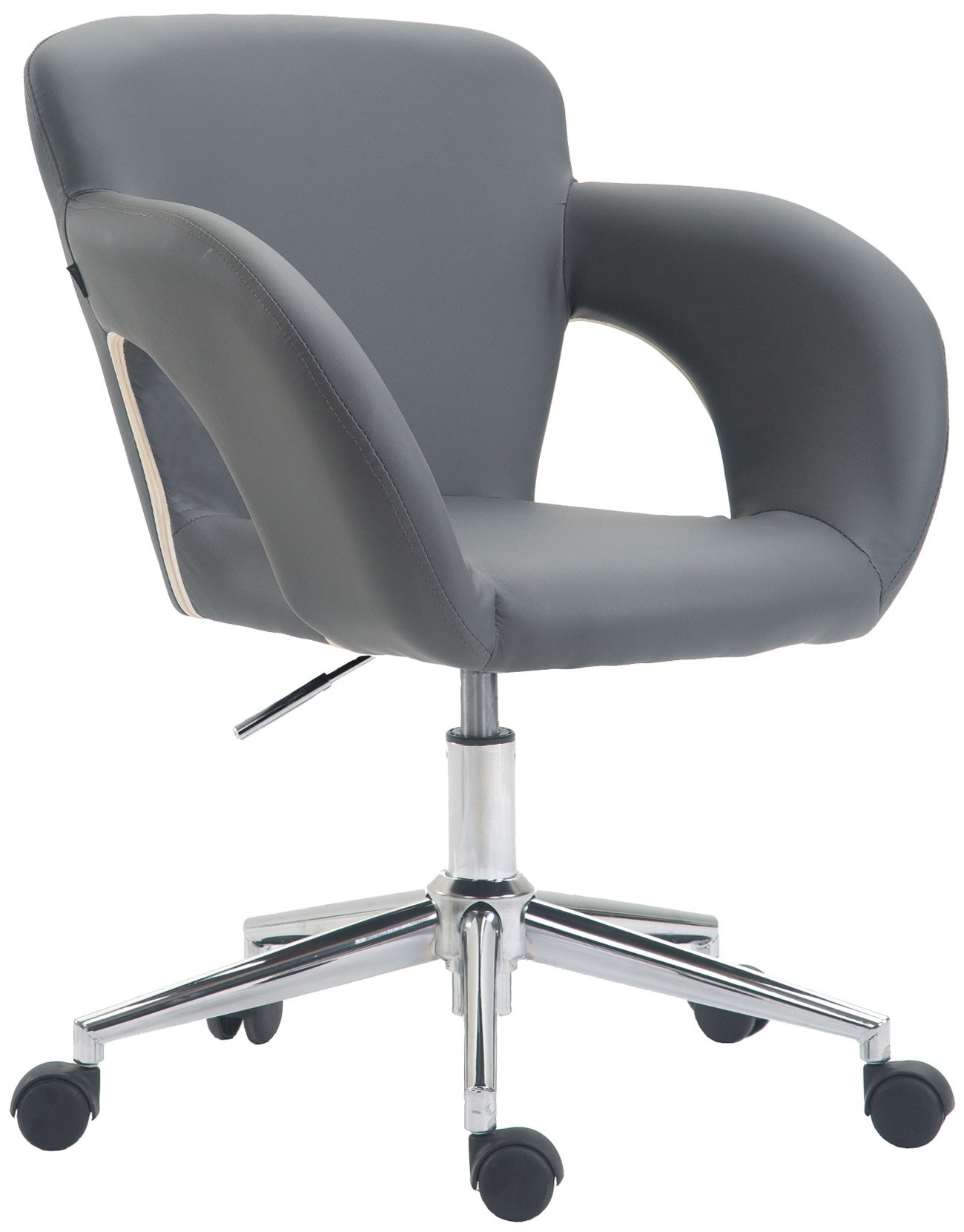 Chaise de bureau Edison similicuir
