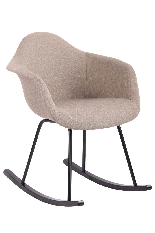 Chaise bascule Merry tissu