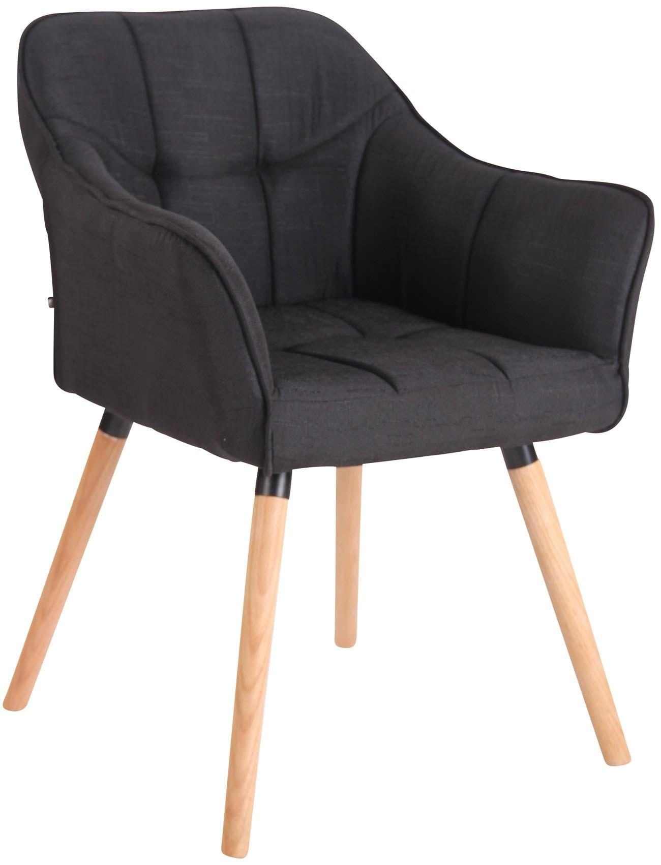 Chaise de salle à manger Falun en tissu