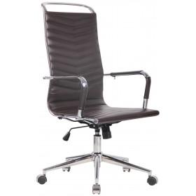 Chaise de bureau Batley en similicuir ou véritable cuir