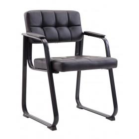 Chaise de visiteur Canada similicuir