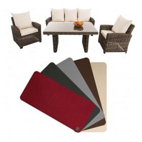 Housses de coussins pour l'ensemble de meubles Fisolo