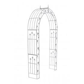 Arche de jardin Emma en fer forgé