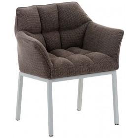 Chaise de salle à manger Octavia W tissu