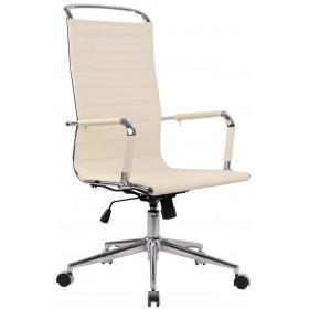 Chaise de bureau Barnes en Similicuir ou véritable cuir