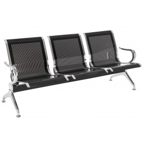 Banc zone d'attente 3 places / Chaises sur poutre Airport