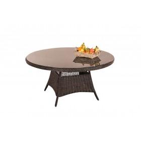 Table de jardin ronde Stavanger XL 150 cm