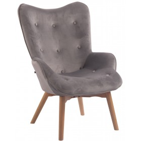 Chaise Lounge Duke en Tissu