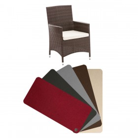 Housses de coussins fauteuil Julia / Fontana