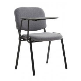 Chaise Ken en tissu avec tablette rabattable