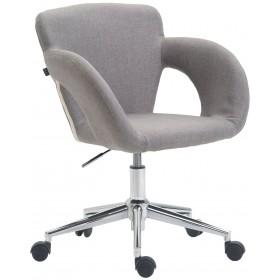 Chaise de bureau Edison tissu