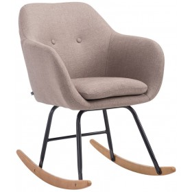 Chaise à bascule Avalon tissu