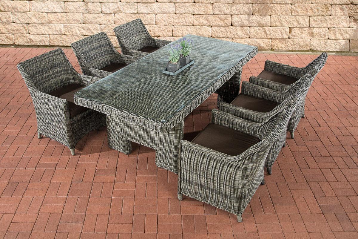 Salon de jardin de luxe Sandnes - Ensemble de meubles ...